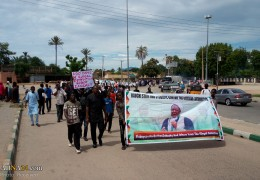 Photos: Islamic Movement in Nigeria held procession to condemn 600 days illegal detention of Sheikh Zakzaky