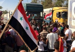 Deir Ezzor residents start to return to their homes